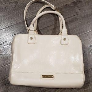 Steve Madden cream purse